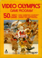 Atari 2600 Video Olympics box art