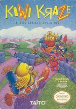 Kiwi Kraze NES cover