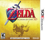 The Legend of Zelda Ocarina of Time 3D cover