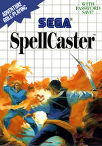 Spellcaster SMS box art