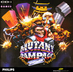 Mutant Rampage CD-i cover