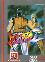 Art of Fighting 2 NeoGeo Cover