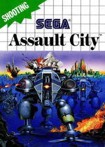 Assault City SMS box art