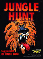 Jungle Hunt arcade flyer