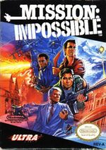Mission Impossible NES cover