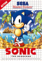 Sonic the Hedgehog SMS box art