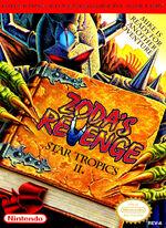 StarTropics 2 Zodas Revenge NES cover