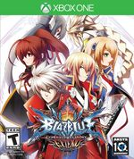 BlazBlue Chrono Phantasma Extend Xbox One cover