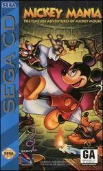 Mickey Mania Sega CD