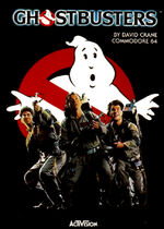 Ghostbusters C64 cover