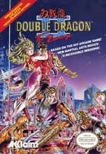 Double Dragon 2 NES cover