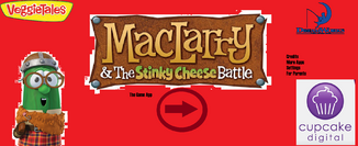 MacLarry Game App Title Card