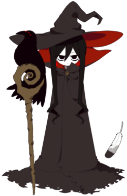 Great witch character art