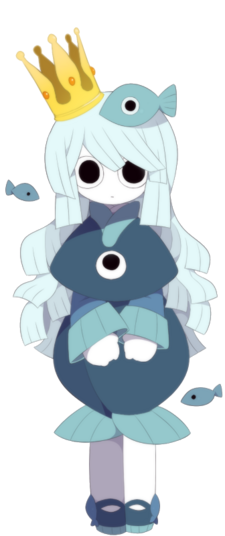 Princess Uomi character art 2