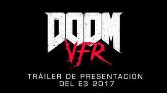 DOOM VFR tráiler de presentación del E3 2017