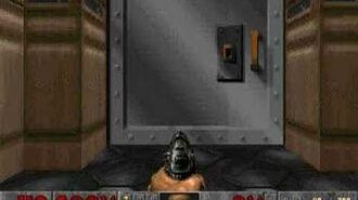 Vanilla Doom sliding doors