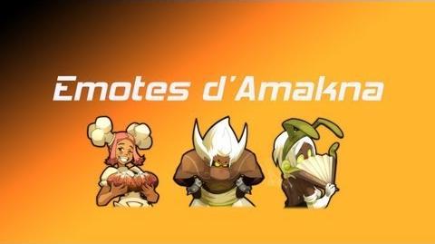 Toutes les Emotes d'Amakna Wakfu MMORPG