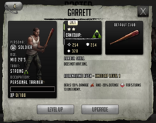 Garrett - Tier 1, Level 1