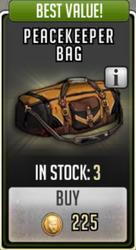 Peacekeeper bag