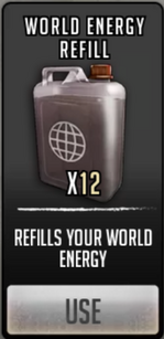 World energy refill