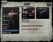 Danny - Max Stats