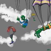 Zombie Parachute