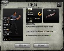 Harlan - Tier 1, Level 1