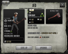Jed - Level 1
