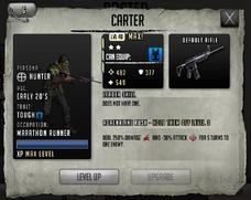 Carter - Max Stats