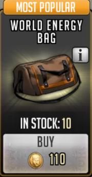 World energy bag