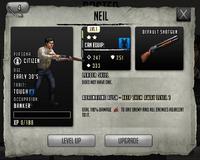 Neil - Rank 1, Level 1