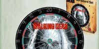 The Walking Dead Dartboard Set