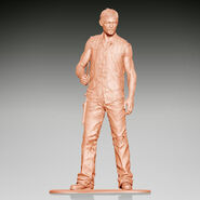 Army Men Series 2 - Woodbury Arena Survivor Set (Daryl Dixon)