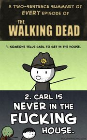 Funny-Walking-Dead-Carl-TV-series-434x698