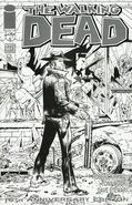 Walking Dead 10th Anniversary Edition (2013) New York Comic Con Black and White Exclusive Cover