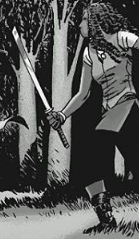 File:Michonne With Her Sword.png