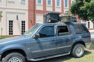Woodbury Packed Car