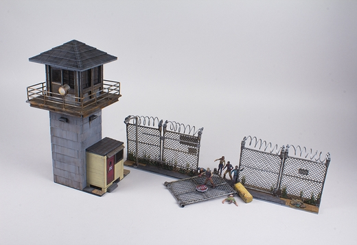 File:The Walking Dead TV Prison Tower & Gate McFarlane Building Set.jpg
