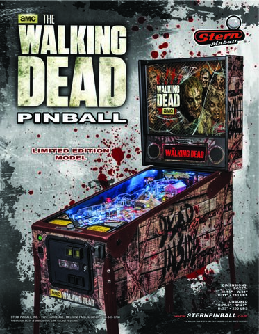 File:The Walking Dead Pinball Machine (Limited Edition) 16.jpg