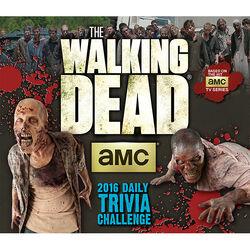 The Walking Dead Trivia Challenge Desk Calendar alt.