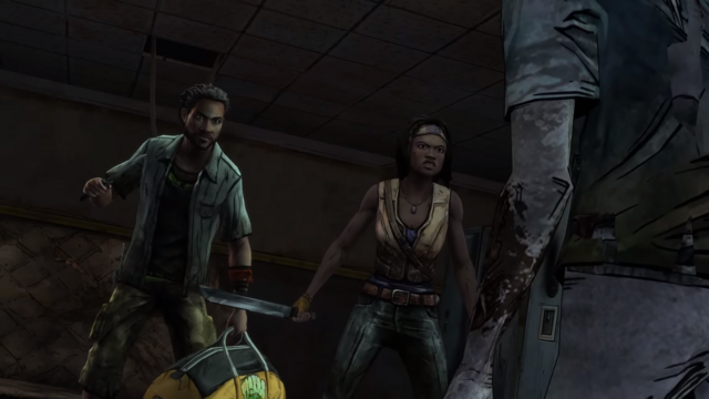 File:TWDM Michonne Pete Combative.png