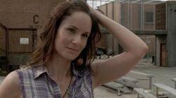Lori showing her forehead