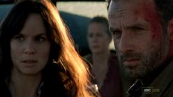Rick grimes and Lori