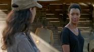 Sasha Looks at Rosita
