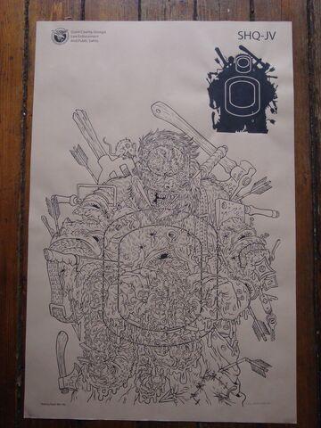 File:Jon Vermilyea Print - The Walking Dead Shooting Target Prints.jpg