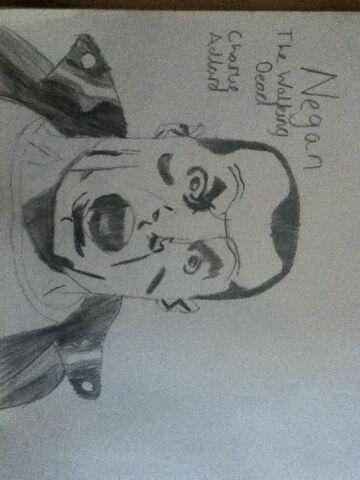 File:Negan The Walking Dead Drawing.jpg