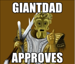 Giantdad approves