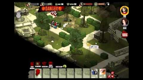 Raiding - The Walking Dead Social Game