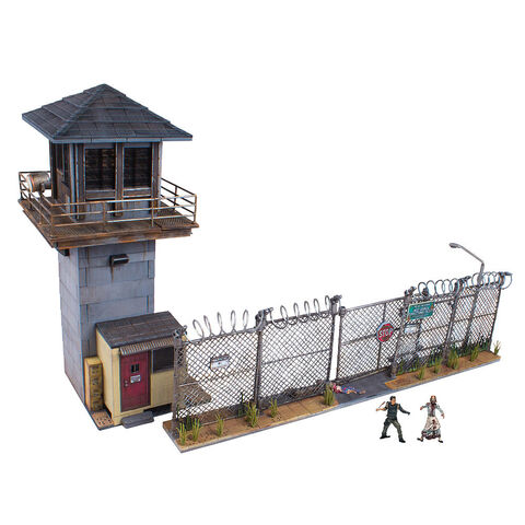 File:The Walking Dead Construction Prison Tower.jpg