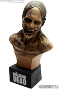 Bicycle Girl Zombie Mini Bust 3